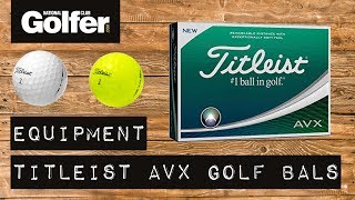 Titleist AVX Golf Ball Review | Mid handicap testing