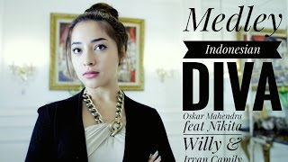 Medley Diva Indonesia (Cover) - Oskar Mahendra feat Nikita Willy & Irvan Camily