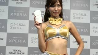 東京ゲームショーXperia 美人コンパニオン Xperiaブースのコンパニオン...