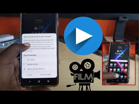 Android 10 Built In Screen Recorder New Feature Galaxy S10