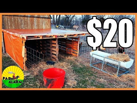 livestock-shelter-made-from-pallets-for-$20