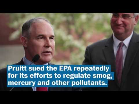 Who is Scott Pruitt?