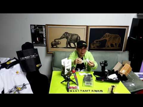 Talui Tamtawan's live broadcast : Unbox Review VideoMicro RODE & DJI OSMO Quick Release 360 MicMount