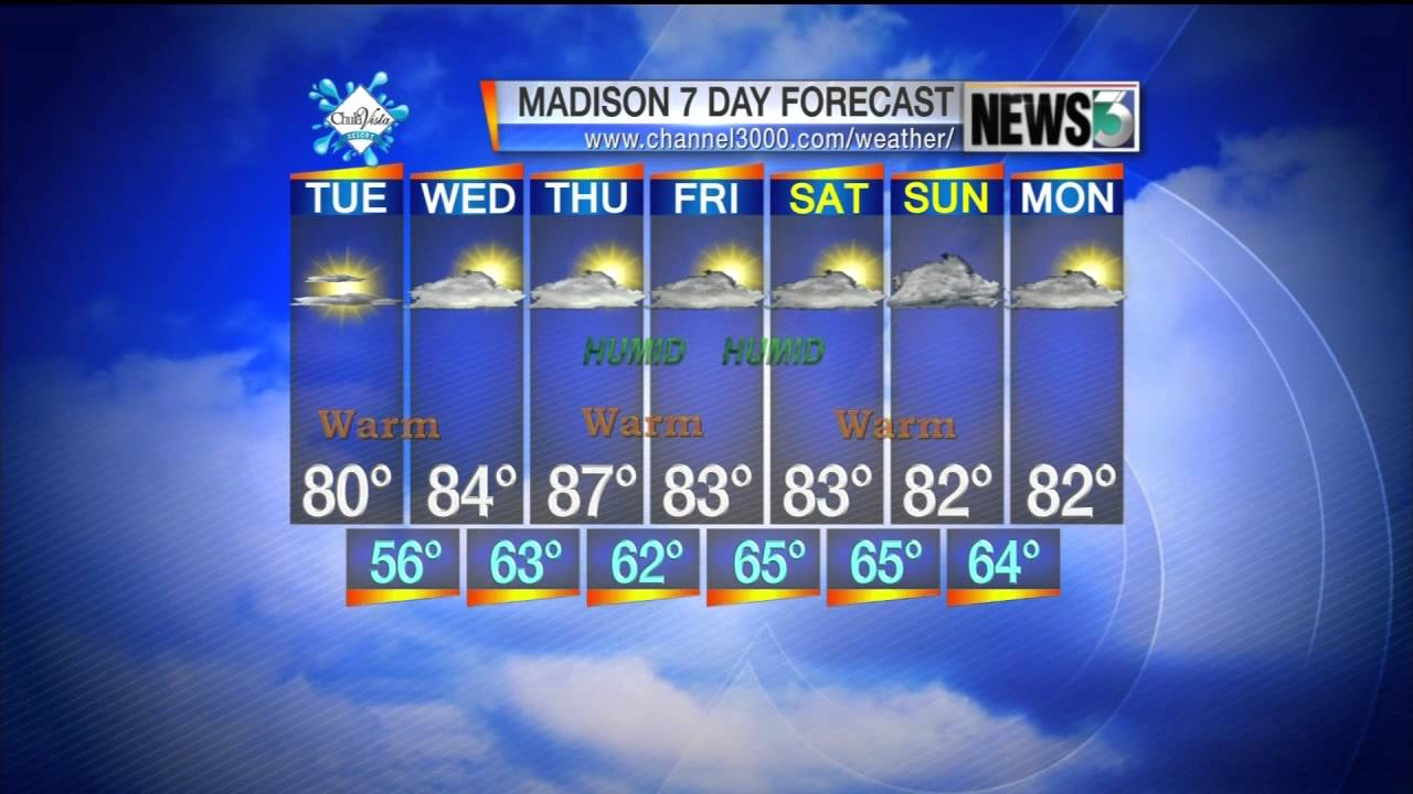 AM Weather: August 21