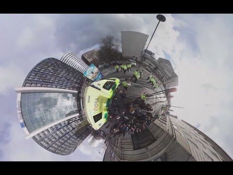Лондон 360: оцепленная после теракта столица Великобритании