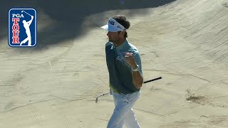 Bubba Watson's thrilling bunker hole-out at Genesis Open