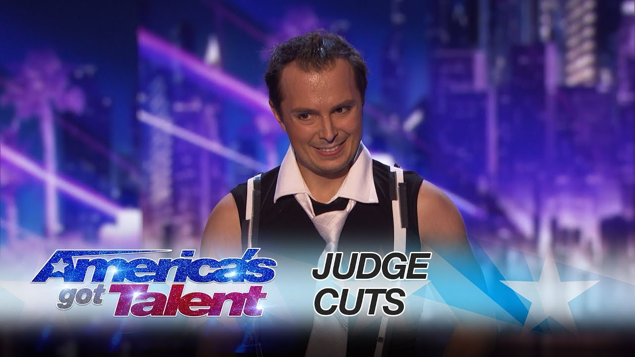 Americas got talent 2017 gospel choir - Maxim Popazov Performer Balances On Top Of Eight Stacked Chairs America S Got Talent 2017