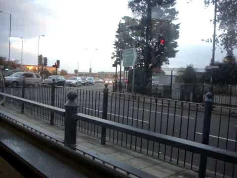 From British Airways ,Waterside office towards Haton cross in BA staff shuttle bus