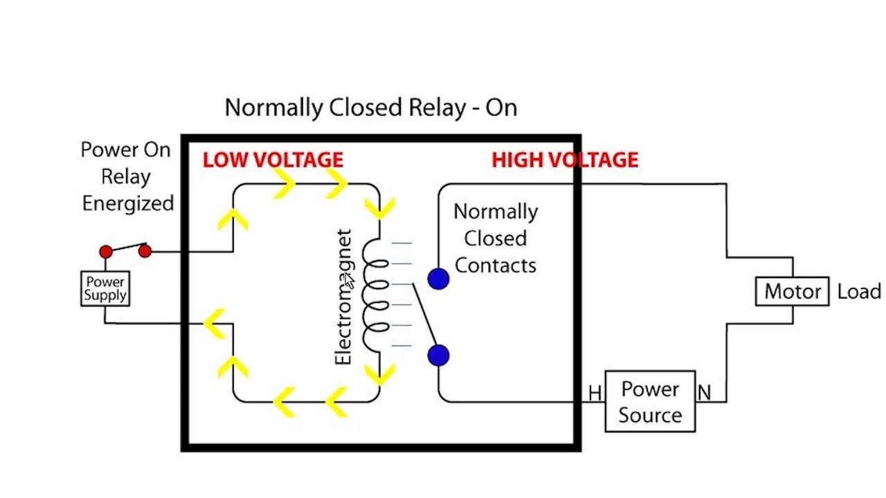 [ANLQ_8698]  Relays: Single Throw vs Double Throw - YouTube | 12 Volt Double Pole Double Throw Relay Wiring Diagram |  | YouTube