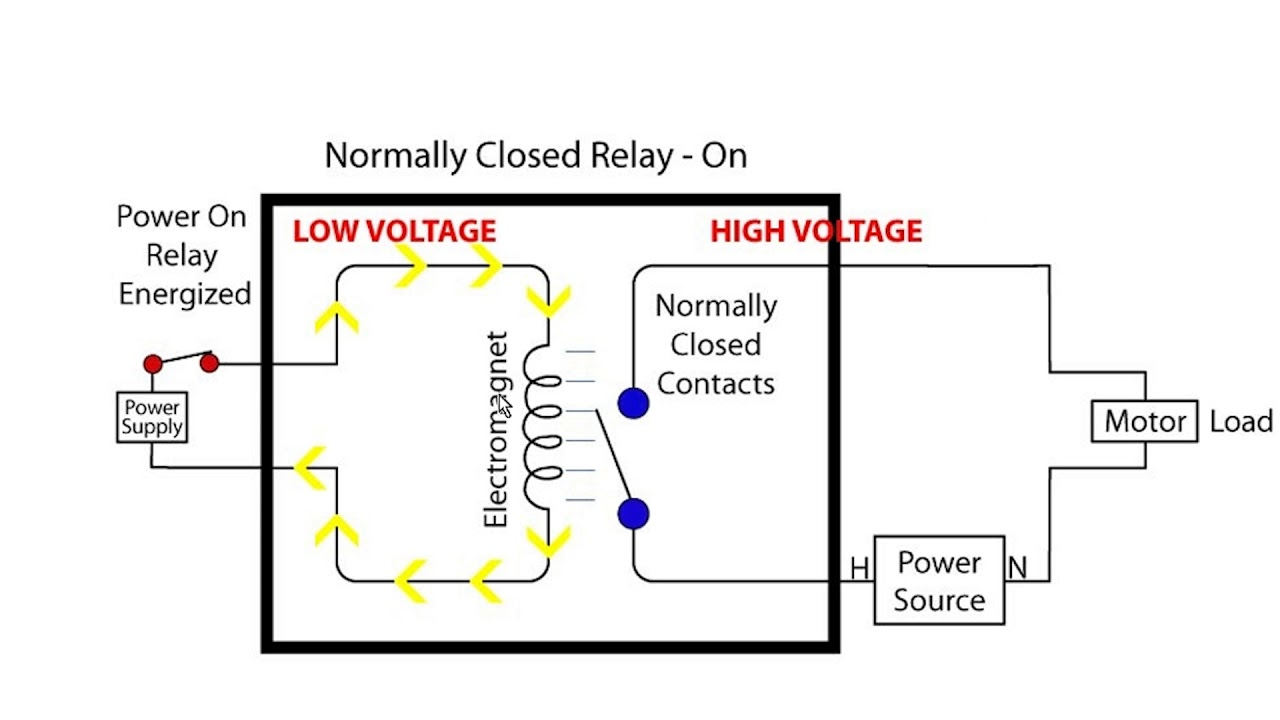 interposing relay wiring diagram relays single throw vs double throw youtube  relays single throw vs double throw