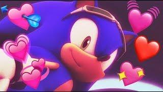I love Sonic the Hedgehog