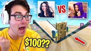 I Hosted a 1v1 Tournament with GIRLS ONLY for $100 in Fortnite... (best girl gamers)