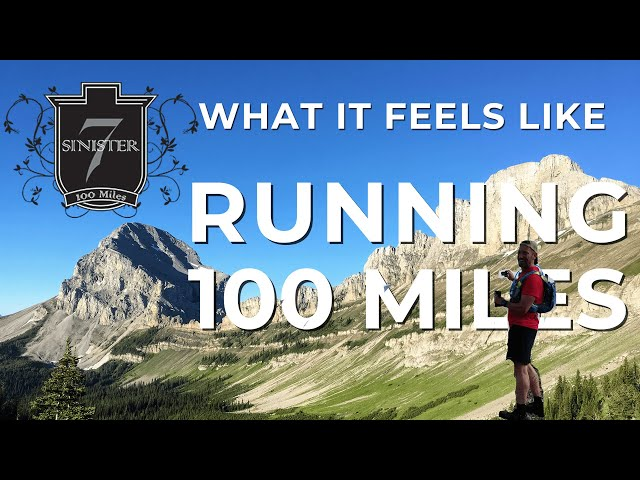 What does it feel like to run 100 miles?