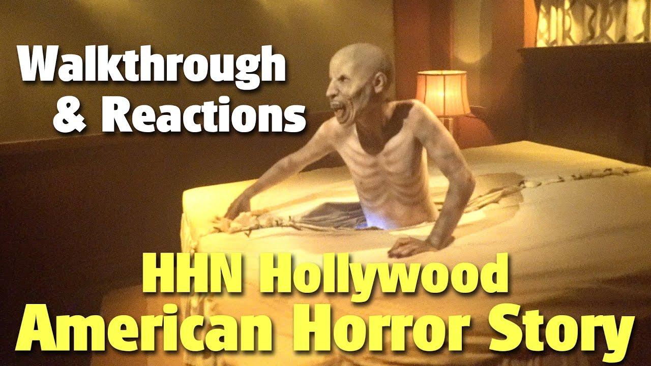 Download American Horror Story: Walkthrough & Reactions | HHN | Universal Studios Hollywood