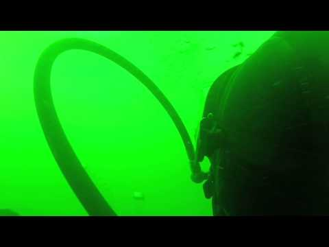 McKinstry's deep dive - Canadian navy ship's team diver course