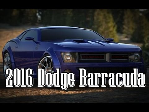 2016 Dodge Barracuda >> 2014 Dodge Challenger Barracuda Concept Official Photo 2015