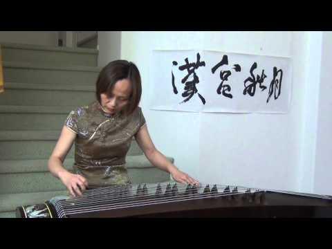 """Han Palace Autumn Moon"" 漢宮秋月 Guzheng played by Victoria Li"
