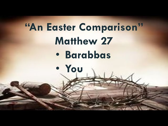 """An Easter Comparison"""