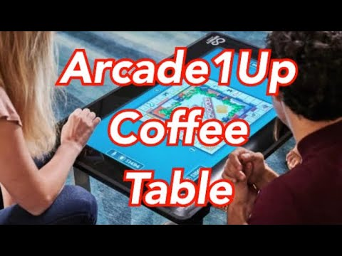 Arcade1Up Coffee Table With Board Games Arcade 1up from rarecoolitems