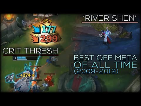 The BEST 'Off Meta' Champions Of All Time In League of Legends History