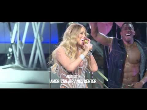 Lionel Richie & Mariah Carey at American Airlines Center on August 3rd