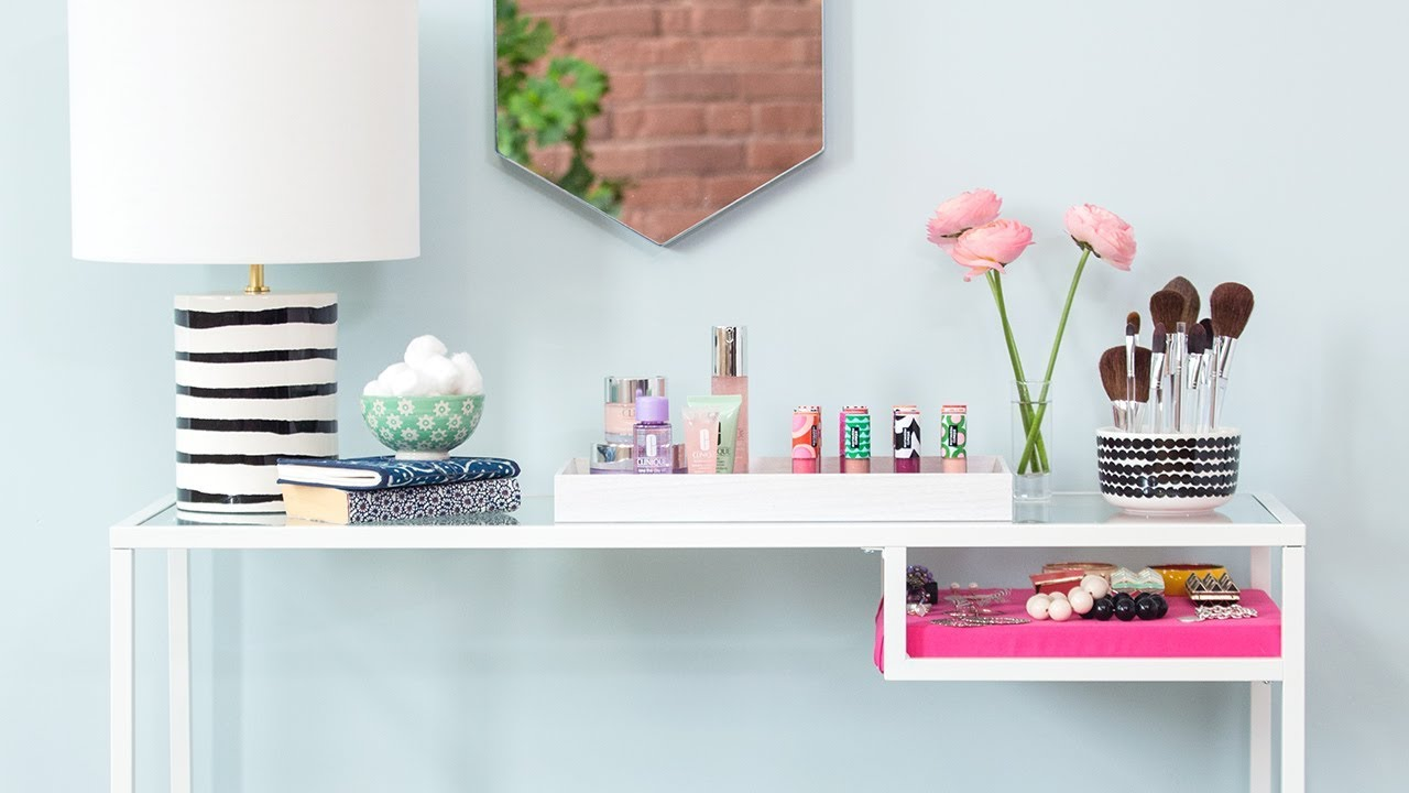 DIY Vanity: Makeup Station Ideas Inspired By Marimekko For Clinique