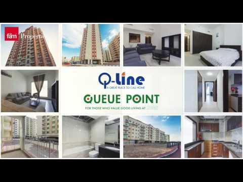 Queue Point & Q-Line - Dubai's Most Affordable & Fastest Growing Communities