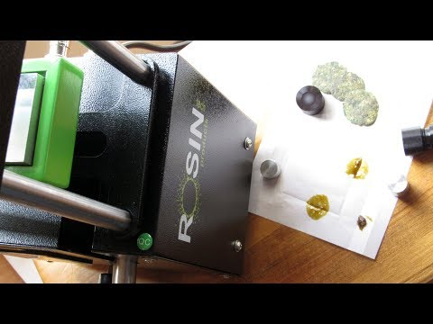 Rosin Tech Smash Review (Gold Series Personal Manual Rosin Press from Rosin Tech Products)