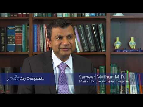 Get to Know Dr  Sameer Mathur | Mathur Spine - Orthopedic Surgeon