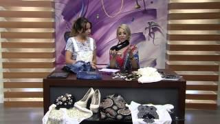 Customização de sapatos e roupas por Vivi Amstalden Parte 1
