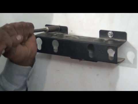 Mounting of VU LED TV on Wall (Hindi) (720p HD)