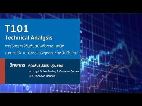 T101 Technical Analysis การวิเคราะห์หุ้นด้วยปัจจัยทางเทคนิค