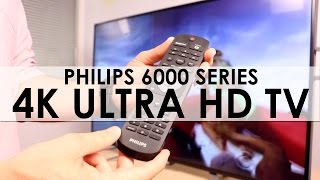 smart ultrahd tv serie 6000 de philips