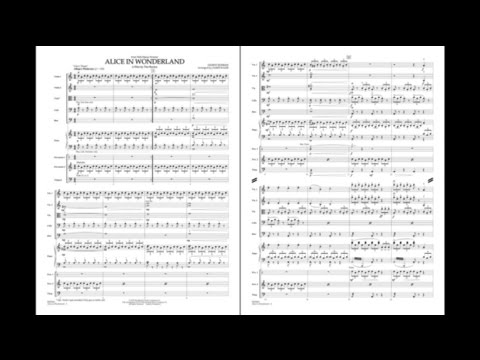 Alice in Wonderland by Danny Elfman/arr. James Kazik