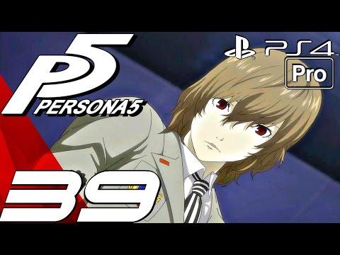Persona 5 English Walkthrough Part 39 Shido's Palace & Akechi Boss Fight Ps4 Pro