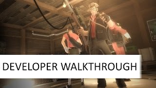 Dev Walkthrough -TF2 Main Menu Background Mod - background_cabin_v1