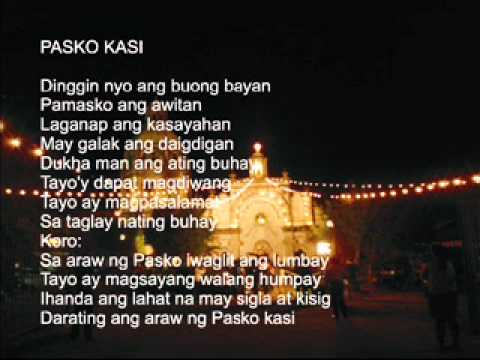 Pasko na naman with Lyrics