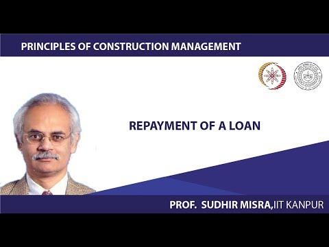 Repayment of a loan