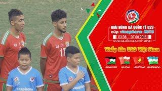Ghi được bàn thắng đầu tiên tại Cúp Tứ hùng, U23 Oman cầm hòa U23 Palestine | VFF Channel
