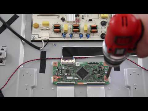 Vizio E60-C3 Complete TV Repair Kit - How to Replace all Boards for TV Repair