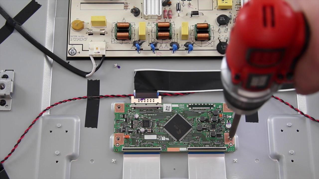 Vizio E60 C3 Complete Tv Repair Kit How To Replace All Boards For T Con Board Block Diagram Youtube