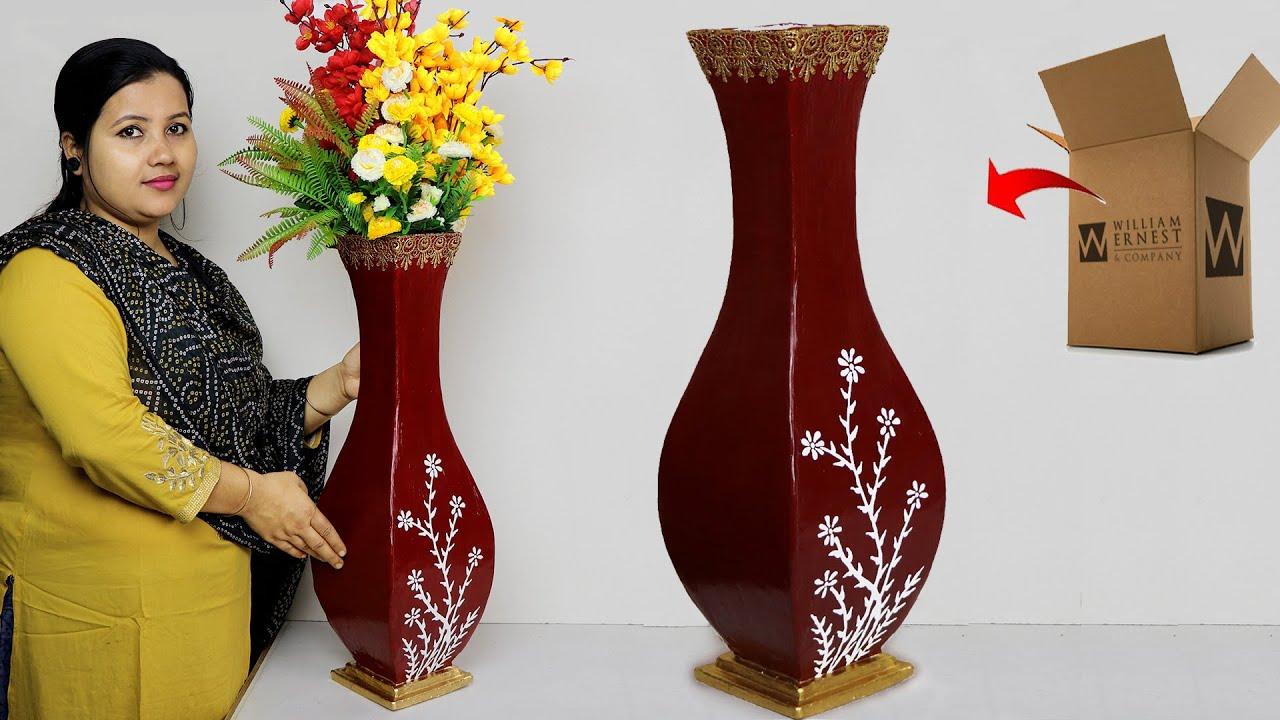 Paper Board Flower Vase Corner Flower Vase Making With Paper Board À¦ª À¦ª À¦° À¦¦ À¦¯ À¦« À¦²à¦¦ À¦¨ Youtube