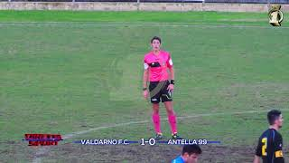 Eccellenza Girone B Valdarno-Antella 1-0