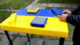 видео Столы для армрестлинга