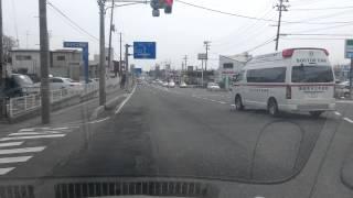 栃木県から福島県内へ緊急走行.