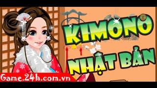 Game Kimono Nhật Bản - Video hướng dẫn chơi Game.24h.com.vn