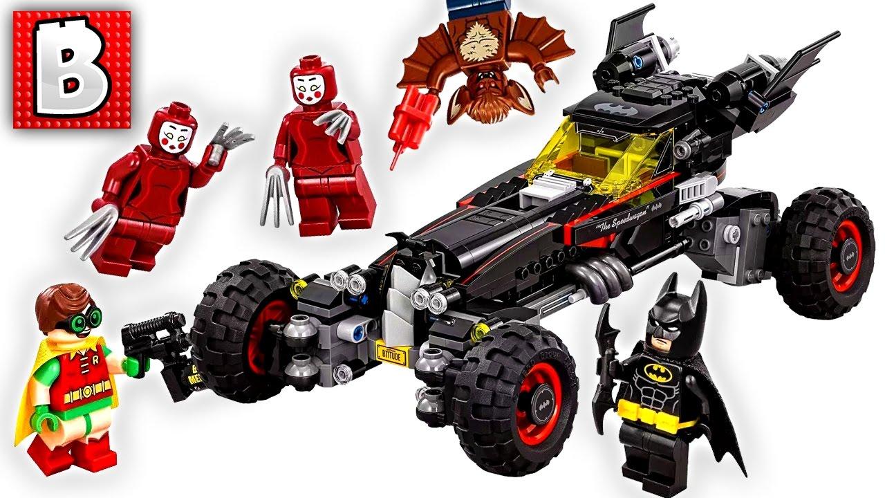 lego batman movie batmobile set 70905 unbox build time lapse review youtube. Black Bedroom Furniture Sets. Home Design Ideas