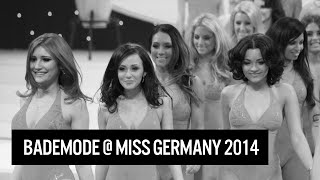 Sexy Bikini / Bademoden Outfits @Miss Germany 2014