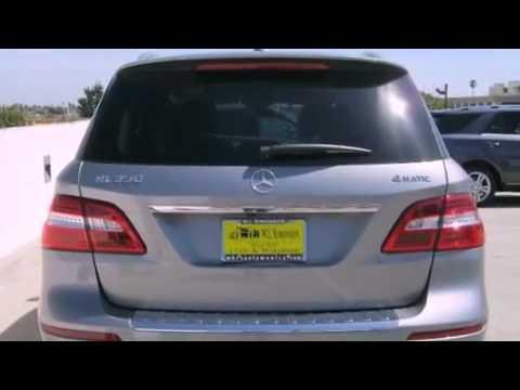 2012 Mercedes-Benz M Class Santa Monica CA 90403 - YouTube