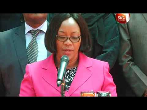 Union of Kenya civil service nurses call on gov't for security